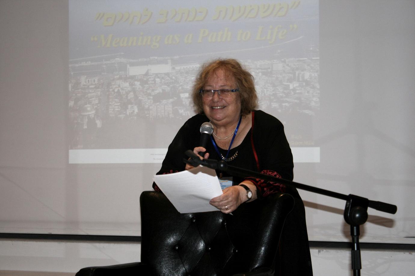 גב' יהודית מילול - ממייסדי העמותה